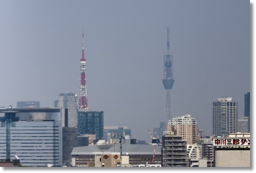 tokyotower&skytree