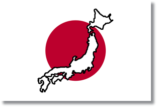 Flag_and_map_of_Japan