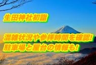 生田神社 初詣 混雑